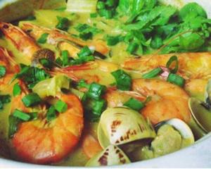 咖喱海鲜暖锅